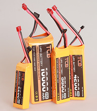 TCB lipo battery 7 4v 5200mAh 35C 2s RC airplane cell factory outlet goods of consistent