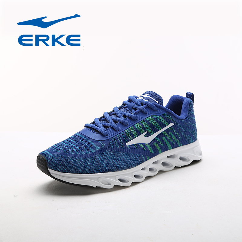 ERKE Man's Running Shoes Spring Summer Sneakers Men breathable Trainers Sports Shoes Lace up Athletic Shoes Men 2017 peak sport speed eagle v men basketball shoes cushion 3 revolve tech sneakers breathable damping wear athletic boots eur 40 50