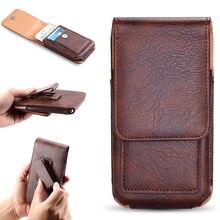 Case For Nokia 3.1 Plus / 7 Plus Universal Man Waist Bag Case With Clip Belt For Nokia 7.1 Plus / X7 Phone Case