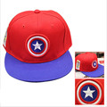 Movie Hat Superhero Captain America/Iron Man/Flash Cosplay Snapback Caps Cool Unisex Letter Baseball Cap Hip-hop Hats Men Women