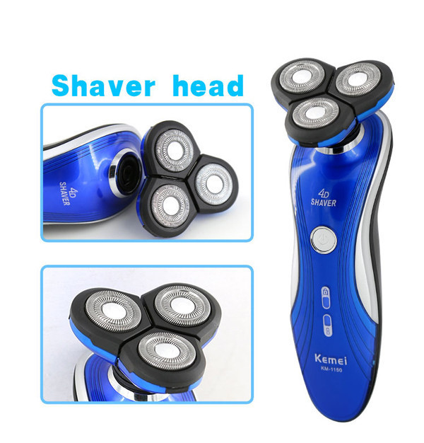 New 3 in1 Washable Rechargeable Electric nose hair trimmer cutting 3D Floating head man shaver beard clipper razor haircutter