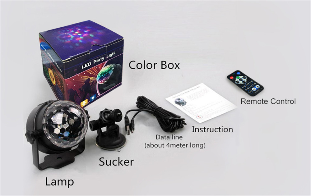 led stage light package color box01