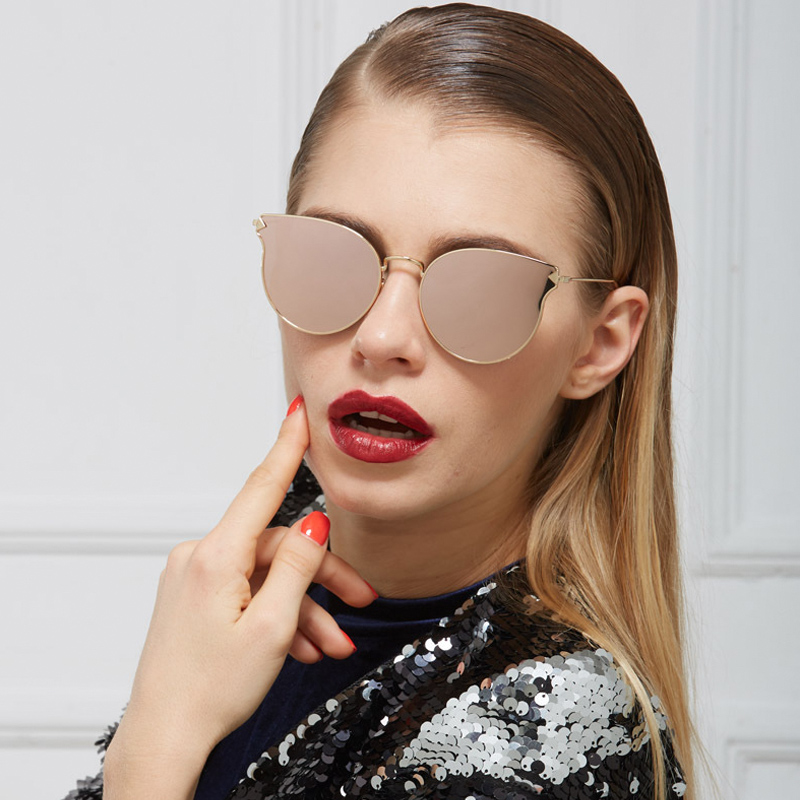 92e68ba568 Detail Feedback Questions about ROYAL GIRL Fashion Brand Designer  Sunglasses Women Reflective Mirror Sun Glasses metal Frame Arrow Leg Glasses  UV400 ss491 ...