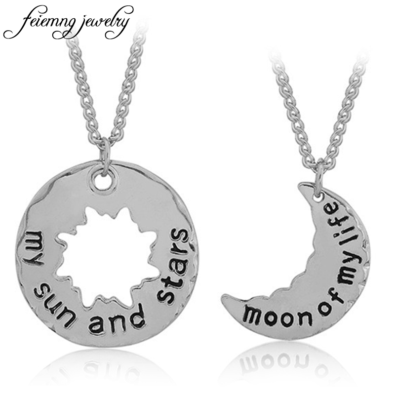 Game of thrones necklace song of ice and fire vintage khal khaleesi moon of my life my sun and stars alloy pendant for couple