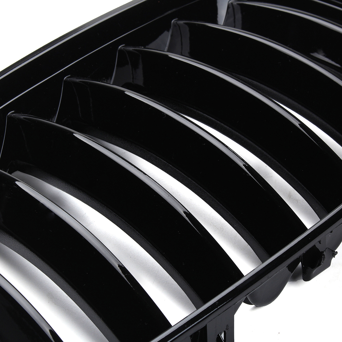 Image 5 - 2Pcs Gloss Black Car Front Kidney Grill Grilles Right & Left for BMW X5 E53 2004 2005 2006 ABS 51137124815 51137124816-in Racing Grills from Automobiles & Motorcycles