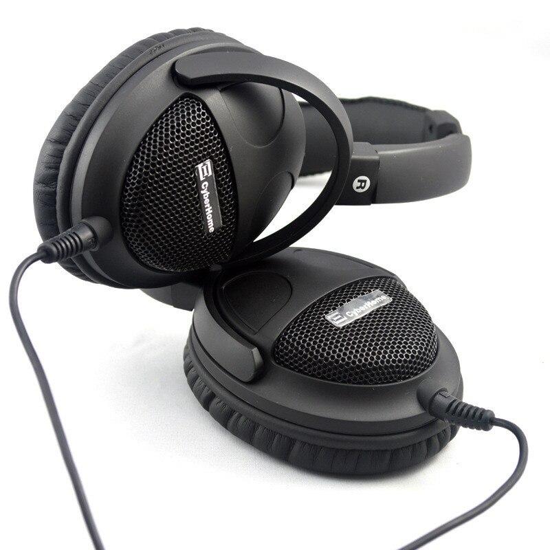 סופר בס אוזניות Hi-Fi קול אוזניות 40mm שישה רמקולים היחידות DIY אוזניות חום 3.5 מ