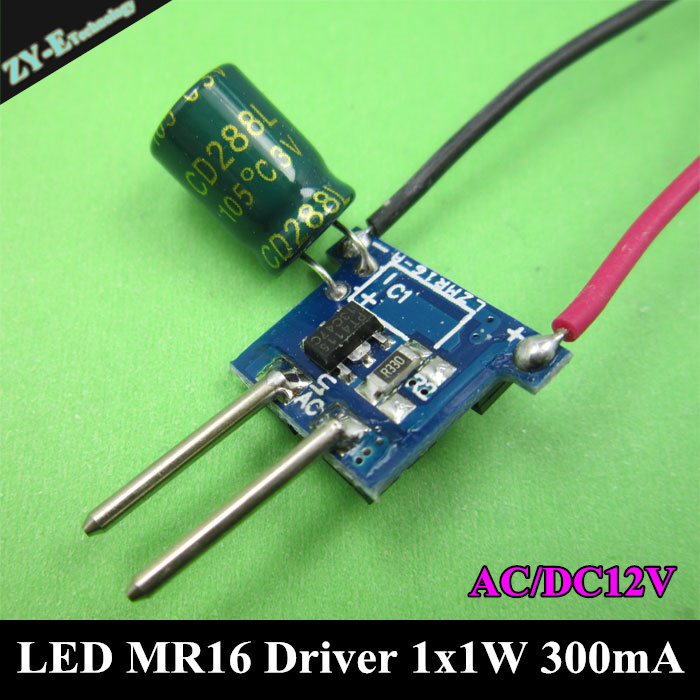 Mr16 Led Transformer Bunnings: 30pcs 1X1W LED MR16 Driver 1*1W Transformer Power Supply