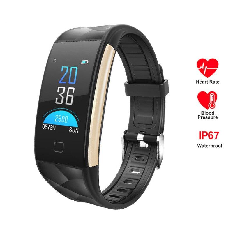 T20 reloj inteligente 2018 Color pantalla rastreador de Fitness presión arterial Monitor de ritmo cardíaco reloj de las mujeres de los hombres conectar el Iphone Android
