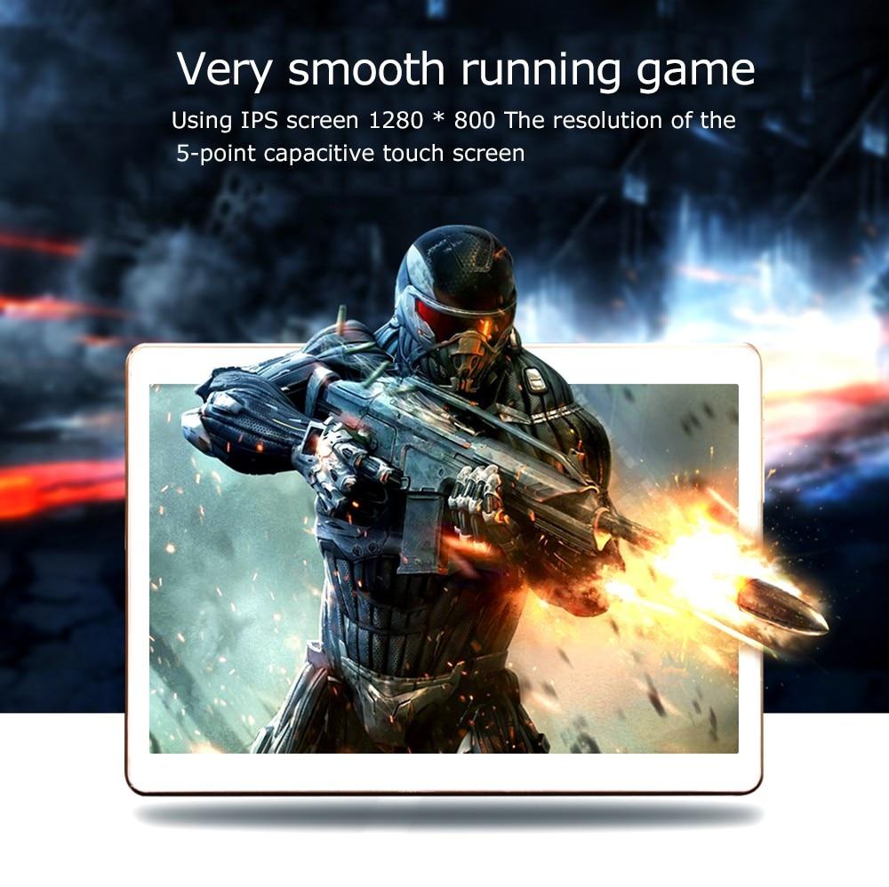 10 inch MTK8752 Octa Core android 7.0 Tablet PC  1280×800 HD  4GB RAM 32GB ROM Wifi 3G WCDMA Mini  GPS FM tablet+gift