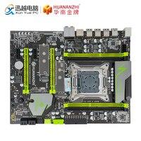 HUANAN ZHI X79 EXTREME V2.49 PB Motherboard For Intel LGA 2011 E5 1650V2 2650V2 2680V2 DDR3 1333/1600/1866MHz 64GB M.2 NVME ATX