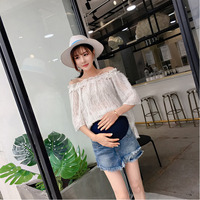 Pregnant Clothes Women Women's Jeans Shorts For The Summer Of 2019 Ropa Mujer Maternity Pants Roupas Femininas Leggings Premama