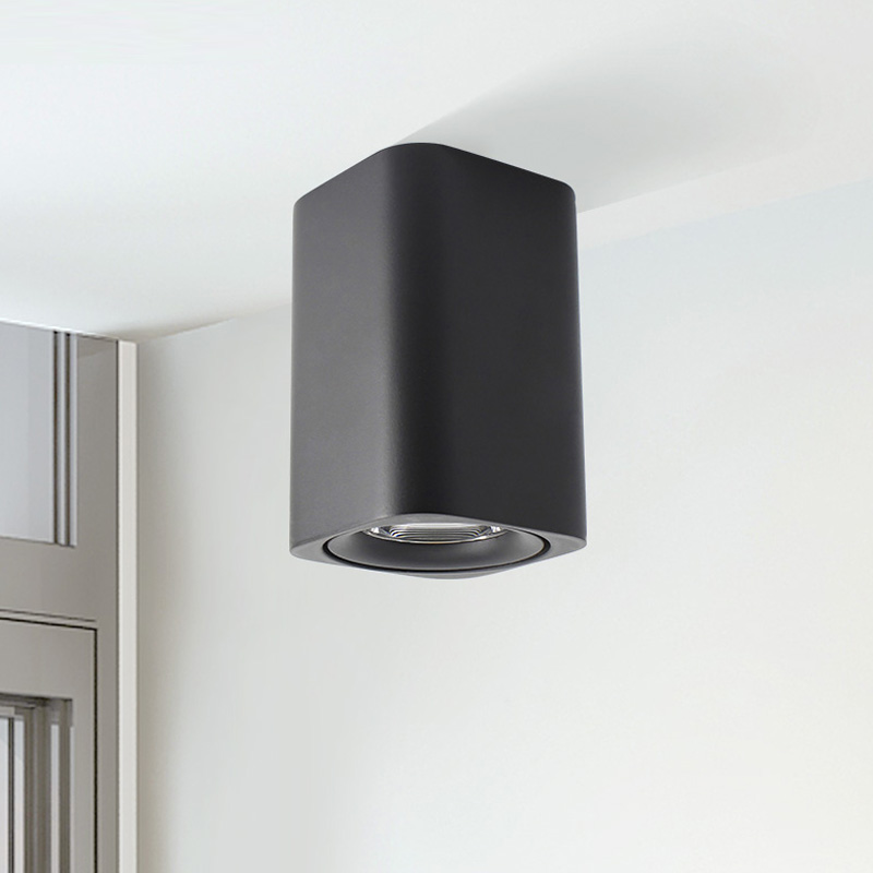 NEW With lens LED Down light 7W 9W Living Bedroom LED Indoor Modern Home Aisle Black
