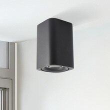 Новый с объективом LED Подпушка свет 7 Вт 9 Вт жизни Спальня LED Крытый современный дом проход черный, белый, серый 110 В -220 В