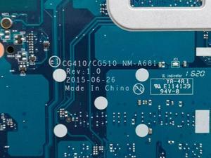 Image 3 - Ücretsiz kargo Lenovo Ideapad 100 15IBD 100 15IBD CG410/CG510 NM A681 dizüstü anakart 3215U CPU