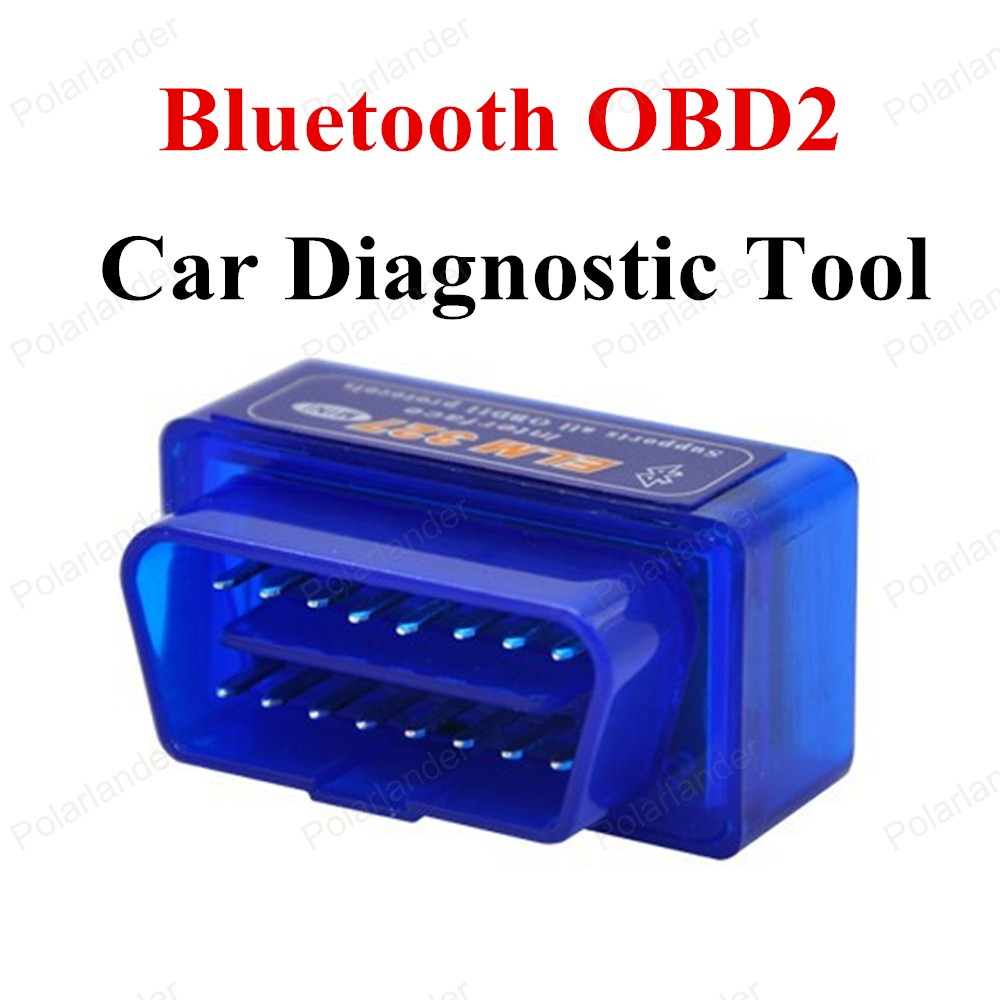 hot sell OBD2 OBD ELM327 Bluetooth Interface Car Scanner car code reader For Android Torque Windows