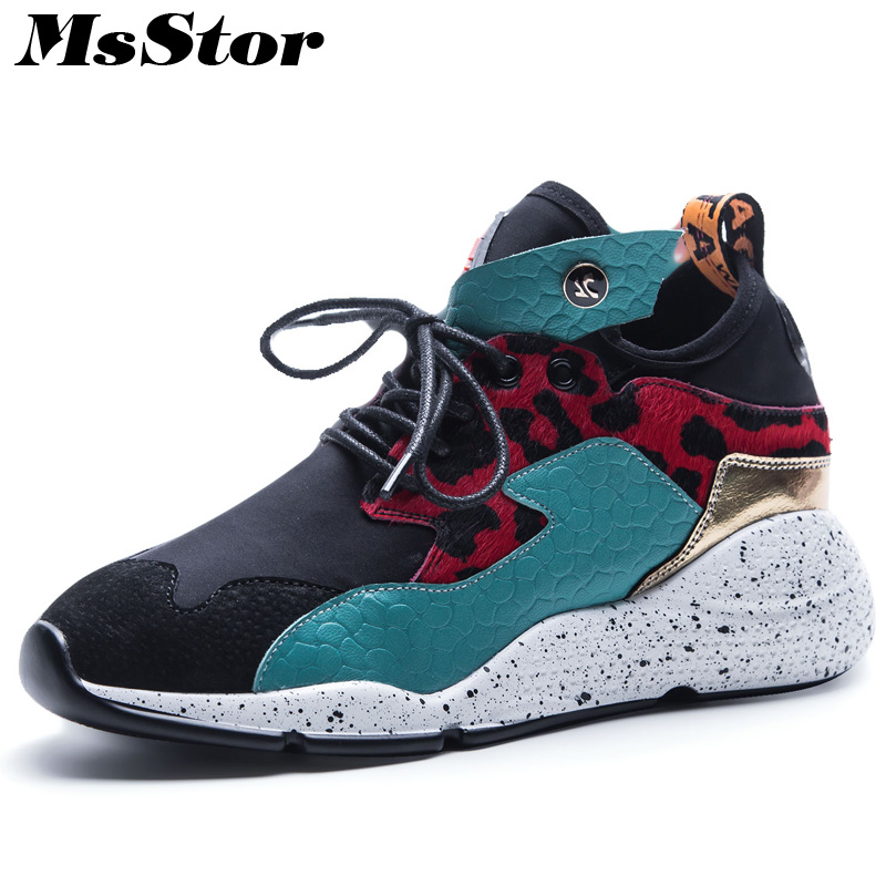 MsStor Horsehair Pointed Toe Women Flats Casual Fashion Ladies Flat Shoes Cross tied Metal Decoration Sneakers Women Flat Shoes sweet women high quality bowtie pointed toe flock flat shoes women casual summer ladies slip on casual zapatos mujer bt123