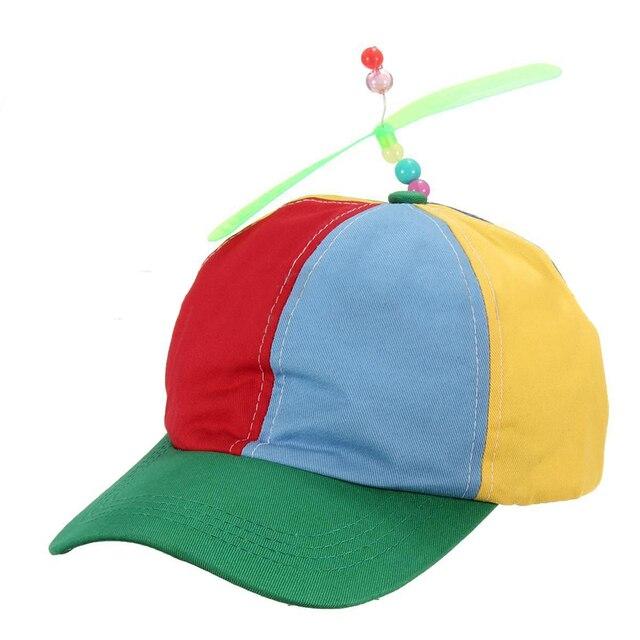 Regolabile Elica Palla Berretto da baseball Cappello Colorato Elica Per Gli  Adulti Dei Bambini Delle Ragazze 1fcffd433f0a