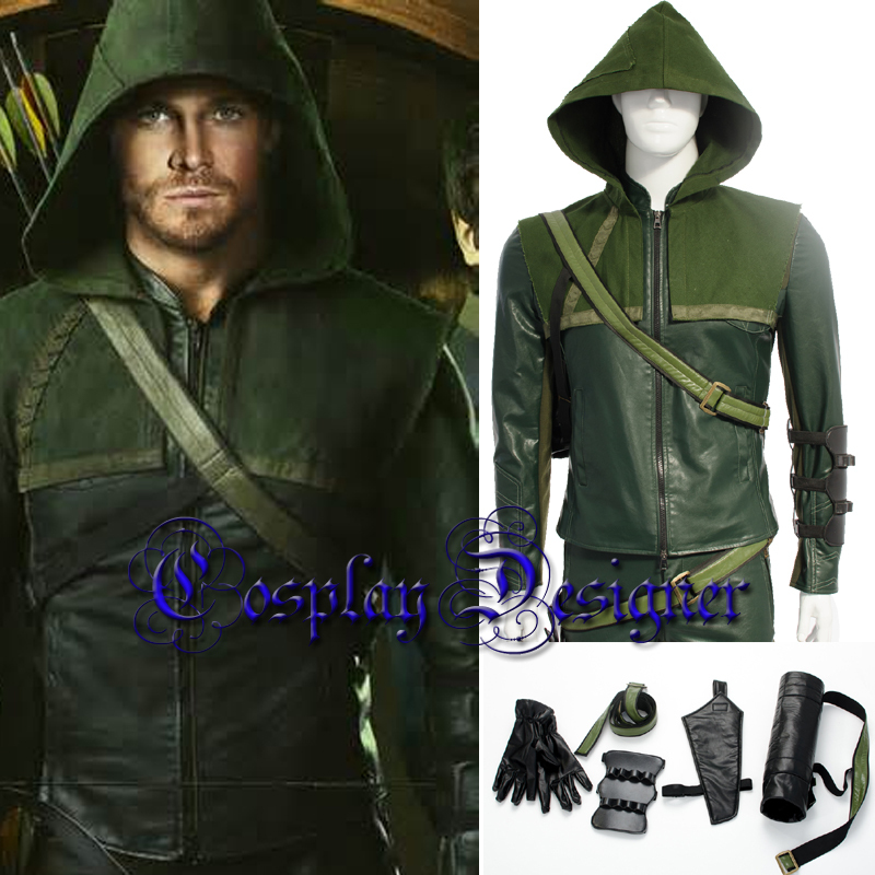 2015 halloween costumes for adult superhero cosplay Green Arrow Oliver Queen cosplay costume Oliver Arrow costume outfit-in Menu0027s Costumes from Novelty ...  sc 1 st  AliExpress.com & 2015 halloween costumes for adult superhero cosplay Green Arrow ...
