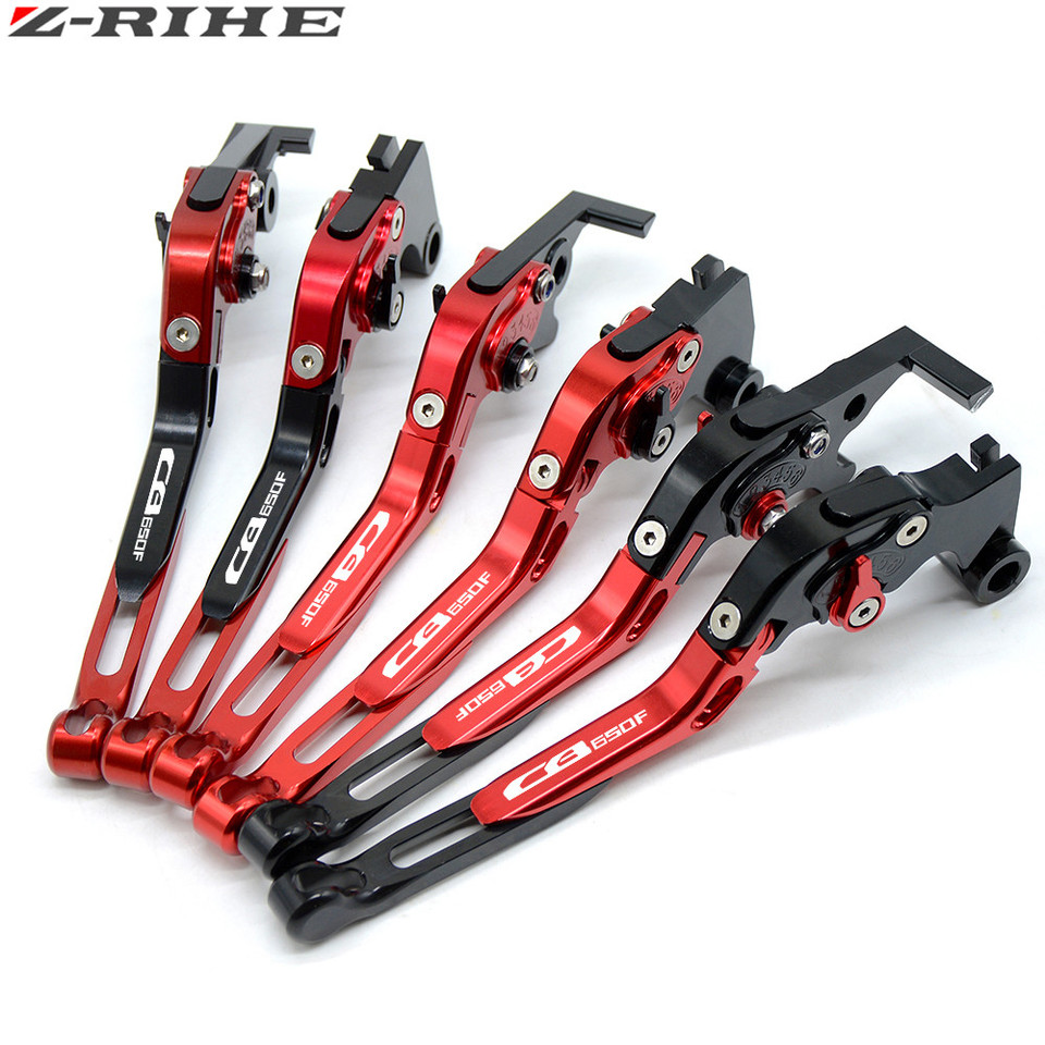 Motorcycle CNC Cluth Levers For Honda CB650F 2014-2017 2015 2016 LOGO Adjust