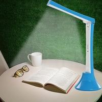 Practical Folding LED Bedroom Bedside Table Lamp USB Charging Light Study Desk Night Lamp 3 Light Mode