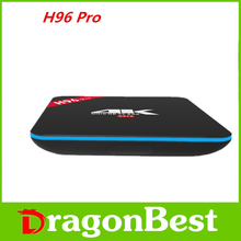 TV Box Android 6.0 Amlogic S912 Octa core ARM Mali-T820MP3 2GB+16GB wifi 1000LAN Bluetooth4.0 smart TVbox 2PCS Original H96 PRO
