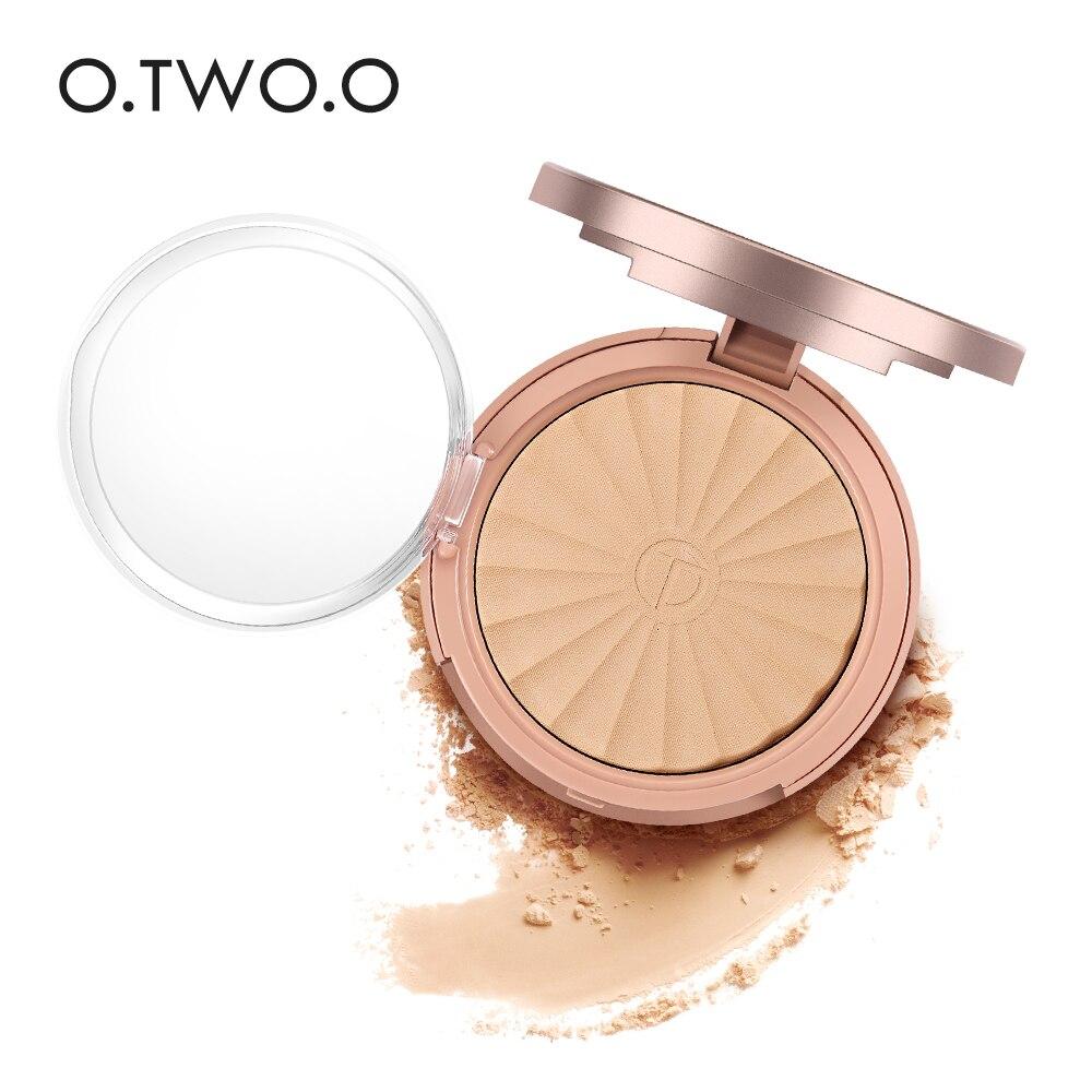 O.TWO.O Pressed Powder Hydrating Enhance Powder Concealer Cream Brightening Waterproof Moisturizing Powder 8Colors