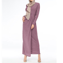 abayas for women muslim long abaya beautiful dresses Middle Eastern Long Dress Turkey Puff sleeve Robe Y525