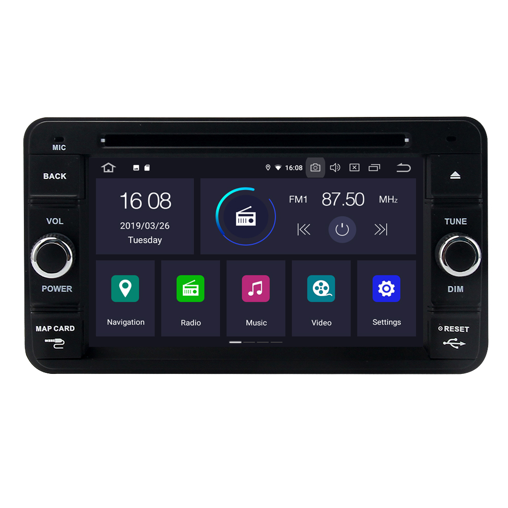 Flash Deal For Suzuki Jimny 2007 - 2013 Android 9.0 2G+16G Quad Core Autoradio Car DVD Radio Stereo GPS Navigation Multimedia Player 0