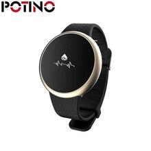 Potino модные A98 умный Браслет Приборы для измерения артериального давления сердечного ритма сна Мониторы напоминание кислорода Мониторы Водонепроницаемый touch Часы
