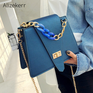 Acrylic Chain Shoulder Bags Wo