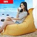 Погремушка диван, набор мебели для гостиной Кресло Мешок Фасоли Для Гостиной Мода Досуга Styrofoam Холст Погремушка Диваны
