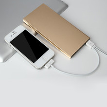 8000mAh Power Bank Universal External Battery 2 USB Portable Charger For Iphone Samsung Huawei Sony HTC LG Xiaomi VHG49 T18 0.35