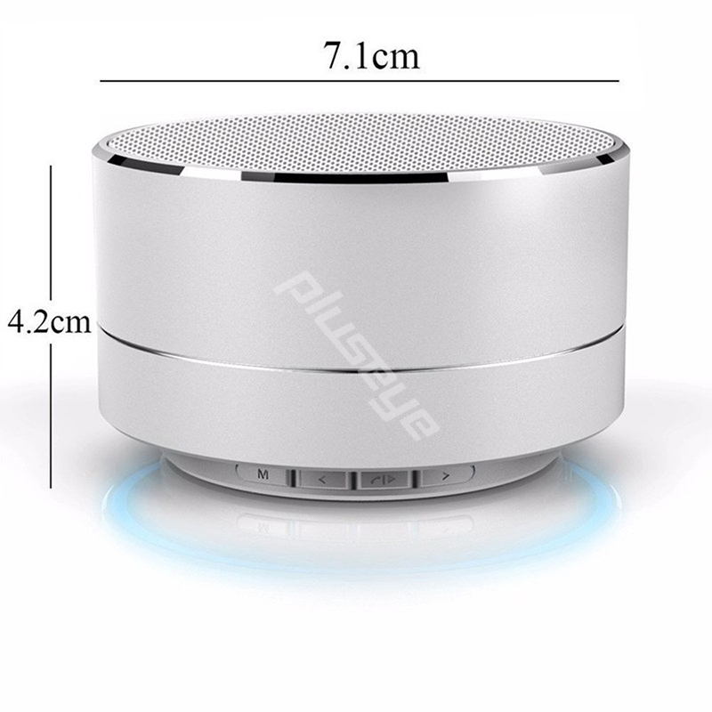 Best gift  Portable Wireless Bluetooth metal Speaker altavoz with FM for iphone Samsung Sony Google LG PC xiaomi MP3 MP4 Huawei