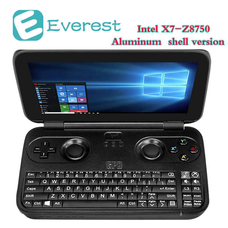 GPD Win Game Console Intel Atom X7-Z8750 tablets 5.5 inch Windows 10 OS Laptop 4G/64GB Quad Core 2.4GHz Gorilla Glass tablet PC ...