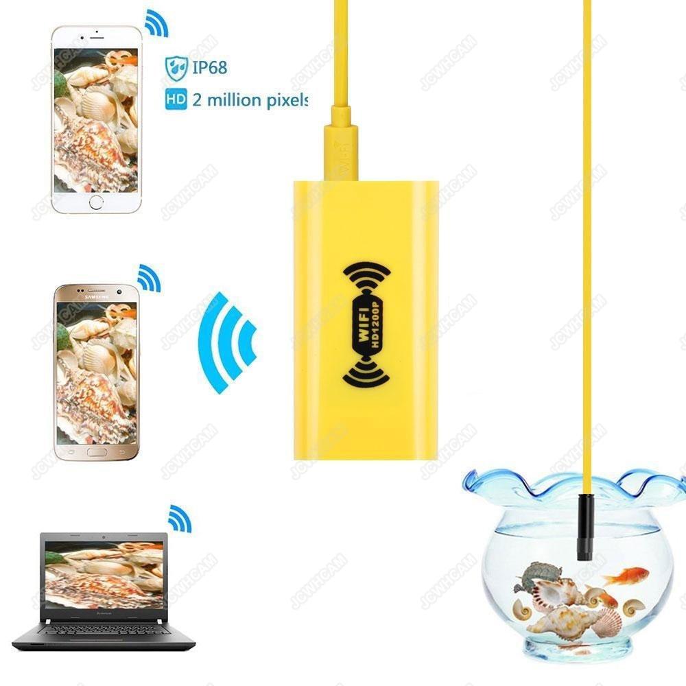 Wifi Android Endoskop Fotoaparát 1200p 8mm vodotěsný tubus - Videokamery a fotoaparáty - Fotografie 3