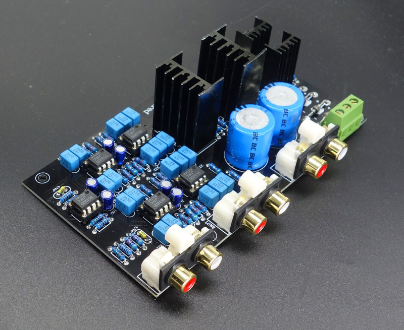 The pre-amplifier electronic Frequency division board/Linkwitz-Riley 2 Frequency division/Replaceable crossover point adjustment цена