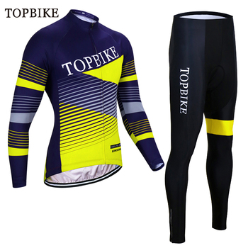 TOPBIKE, conjunto de Jersey térmico de invierno de lana para ciclismo, ropa...