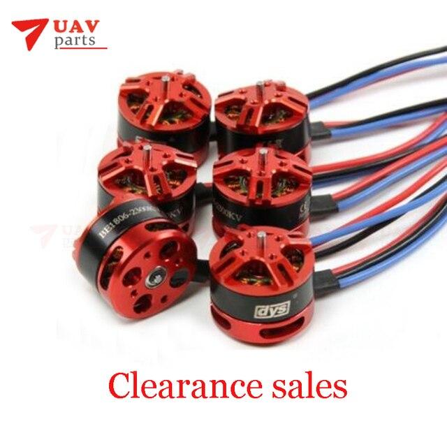 De las ventas de DYS Multi-rotor Motor sin escobillas BE1806 color rojo 2300KV para Mini Multicopters RC Plan