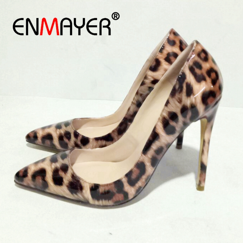 Enmayer    Rubber  Pointed Toe  Casual  Slip-On  Shoes Woman High Heel  Zapatos Mujer Tacon  Sexy Heels Size 34-43 ZYL2327Enmayer    Rubber  Pointed Toe  Casual  Slip-On  Shoes Woman High Heel  Zapatos Mujer Tacon  Sexy Heels Size 34-43 ZYL2327