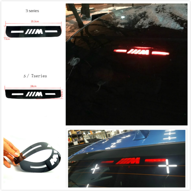 Car Styling Brake Light Sticker For BMW E60 E90 F10 F30 F15 E63 E64 E65 E86 E89 E85 E91 E92 E93 F02 M5 E61 F01 BMW 3 5 7 series