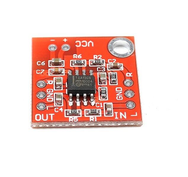 Stereo TDA1308 Headphone Amplifier Board Headset Amp Preamplifier Board Module 3V-6V