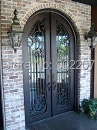 Iron Windows And Doors  Black Iron Door