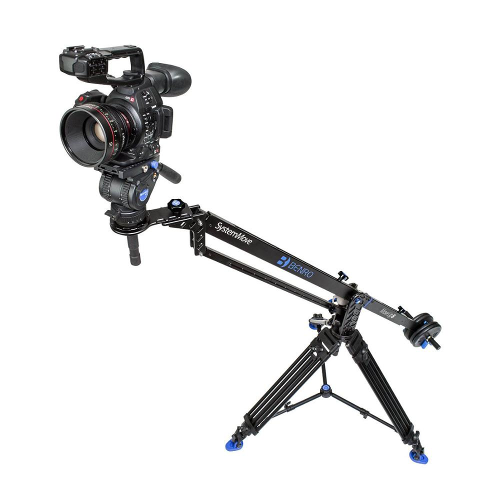 Benro MoveUp8 Travel Video Jib crane Professional Auminium Portable Pro DSLR Video Camera Crane Jib Arm Max Load To 8kg A08J23 цена и фото