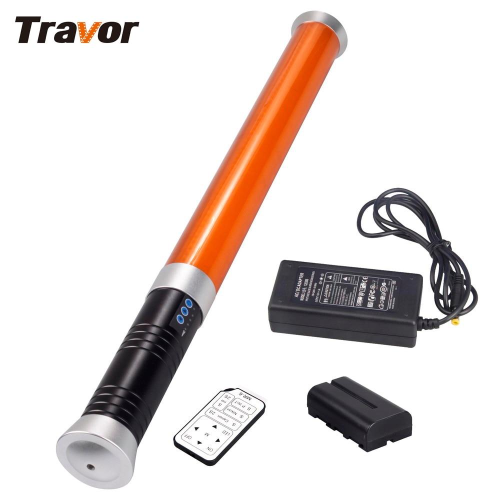 Travor Portable Handheld 298 LED Video Light Magic Tube Light MTL 900 II as icelight for
