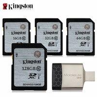Kingston SD Card 16 ГБ 32 ГБ 64 ГБ 128 ГБ памяти карт tarjeta sd 32 ГБ sd hc/SDXC микро sd для DSLR HD цифровая Спорт Камера