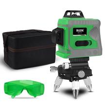 цены Laser Level Green Lines Self-Leveling 360 Horizontal And Vertical Cross Super Powerful Green Laser Level Measuring Instrument