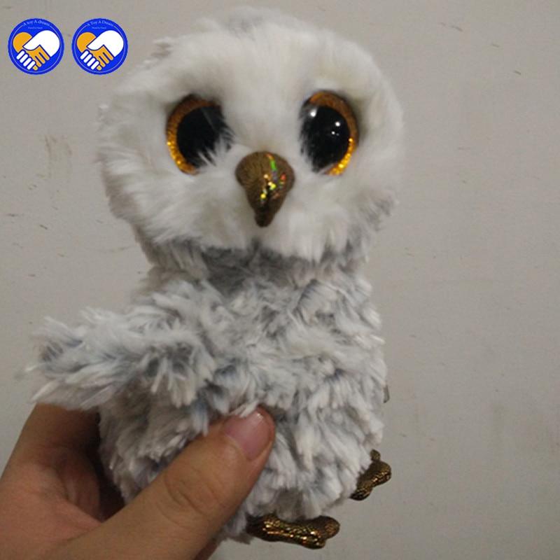 Игрушка мечта Ty Beanie Boo 6 Owlette сова большой Средства ухода для век плюшевые игрушки куклы фиолетовый панда подарок для маленьких детей