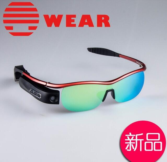 69ef7e2a553 Smart Glasses Polarized Sunglasses Bluetooth 4.0 Video Recorder DVR  Camcorder 8.0MP Camera Sports Eyewear Support Voice Calls