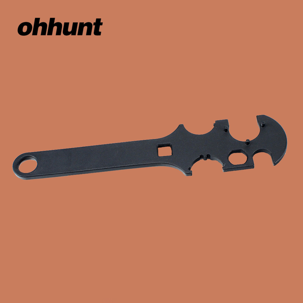 ohhunt Tactical Gunsmith Armorer's Combo Wrench Tool No.4 Heavy Duty .223 5.56 Stock for AR 15 M4 Rifle Gun Accessories(China)