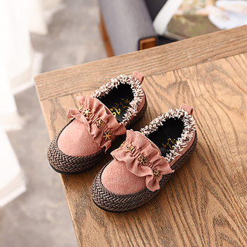 2019 אופנה פעוט נסיכת תינוק בנות נעלי תינוק חמוד בנות ילדים שטוחים ופרס בנות מזדמן כוכב סניקרס